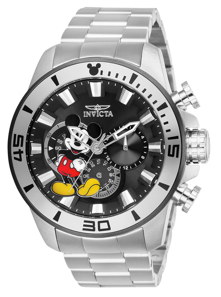 Invicta Men's 27361 Disney  Quartz Chronograph Black Dial Watch