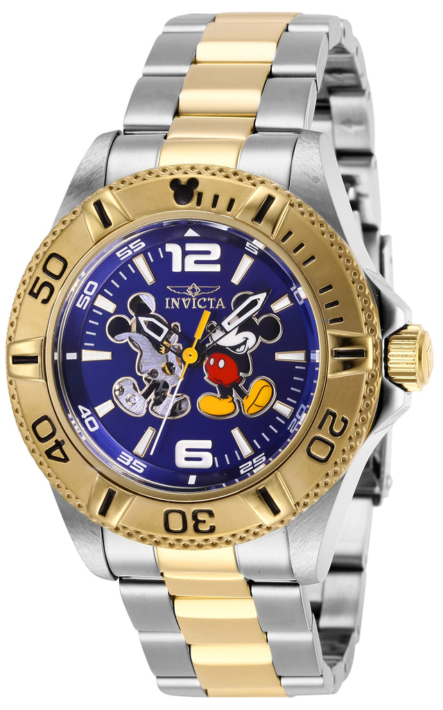 Invicta Men's 27408 Disney  Automatic 3 Hand Blue Dial Watch