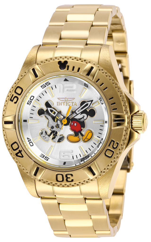 Invicta Men's 27409 Disney  Automatic 3 Hand Silver Dial Watch