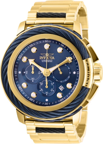 Invicta Men's 27495 Bolt Quartz Chronograph Blue Dial Watch