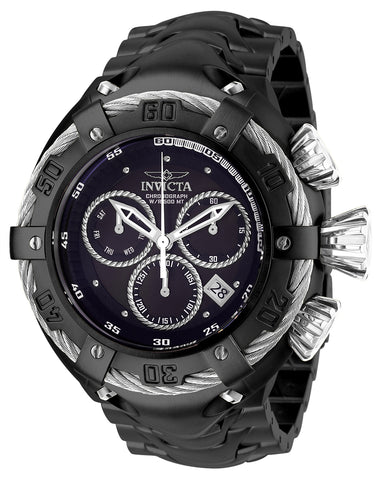 Invicta Men's 27516 Bolt Quartz Chronograph Black, Silver Dial Watch