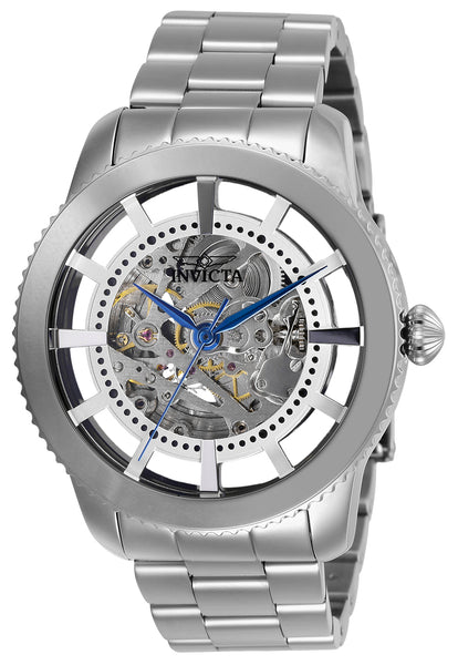Invicta Men's 27550 Objet D Art Automatic 3 Hand Silver Dial Watch