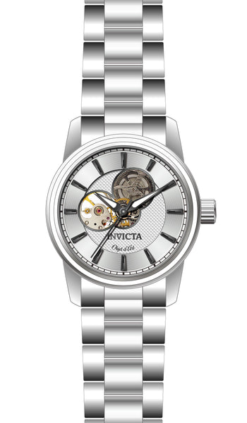 Invicta Men's 27560 Objet D Art Automatic 3 Hand Silver Dial Watch