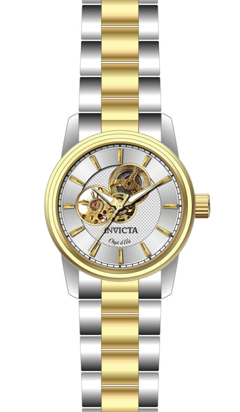 Invicta Men's 27561 Objet D Art Automatic 3 Hand Silver Dial Watch