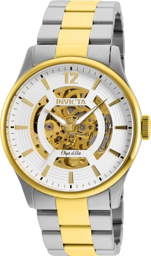 Invicta Men's 27572 Objet D Art Automatic 3 Hand White Dial Watch