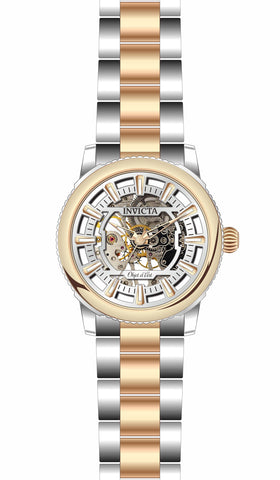 Invicta Men's 27590 Objet D Art Automatic 3 Hand Silver Dial Watch