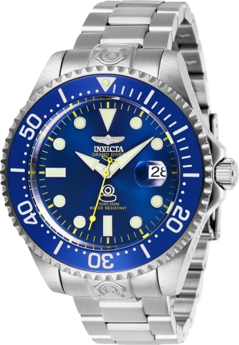 Invicta Men's 27611 Pro Diver Automatic 3 Hand Blue Dial Watch