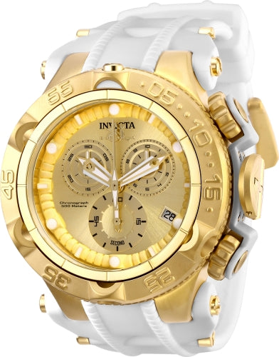 Invicta Men's 27684 Subaqua Quartz Chronograph Gold Dial Watch
