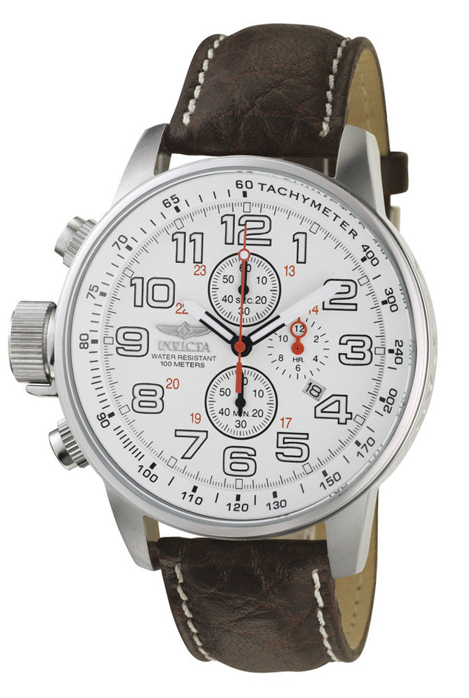 Invicta Men's 2771 I-Force Quartz Chronograph White Dial Watch