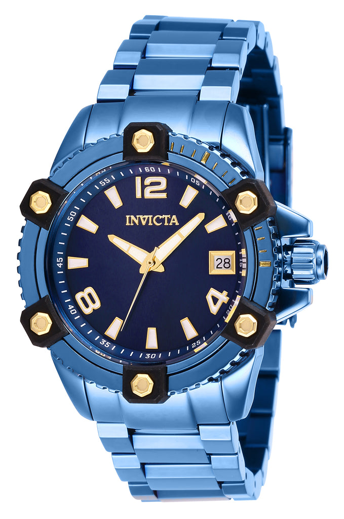 Invicta Women's 27748 Pro Diver Quartz Chronograph Blue Dial Watch