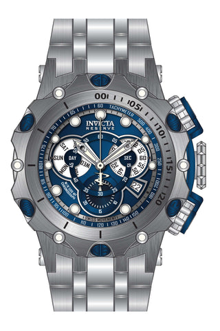 Invicta Men's 27787 Reserve Quartz Chronograph Blue Dial Watch