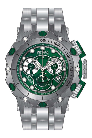 Invicta Men's 27788 Reserve Quartz Chronograph Green Dial Watch