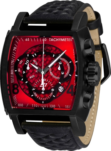 Invicta Men's 27926 S1 Rally Quartz Multifunction Red, Black Dial Watch