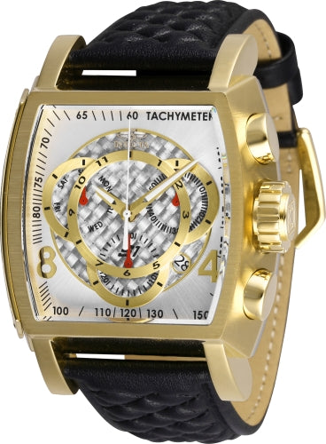Invicta Men's 27928 S1 Rally Quartz Multifunction Silver Dial Watch