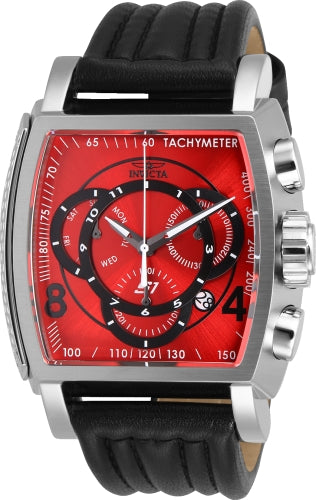 Invicta Men's 27938 S1 Rally Quartz Multifunction Red, Black Dial Watch