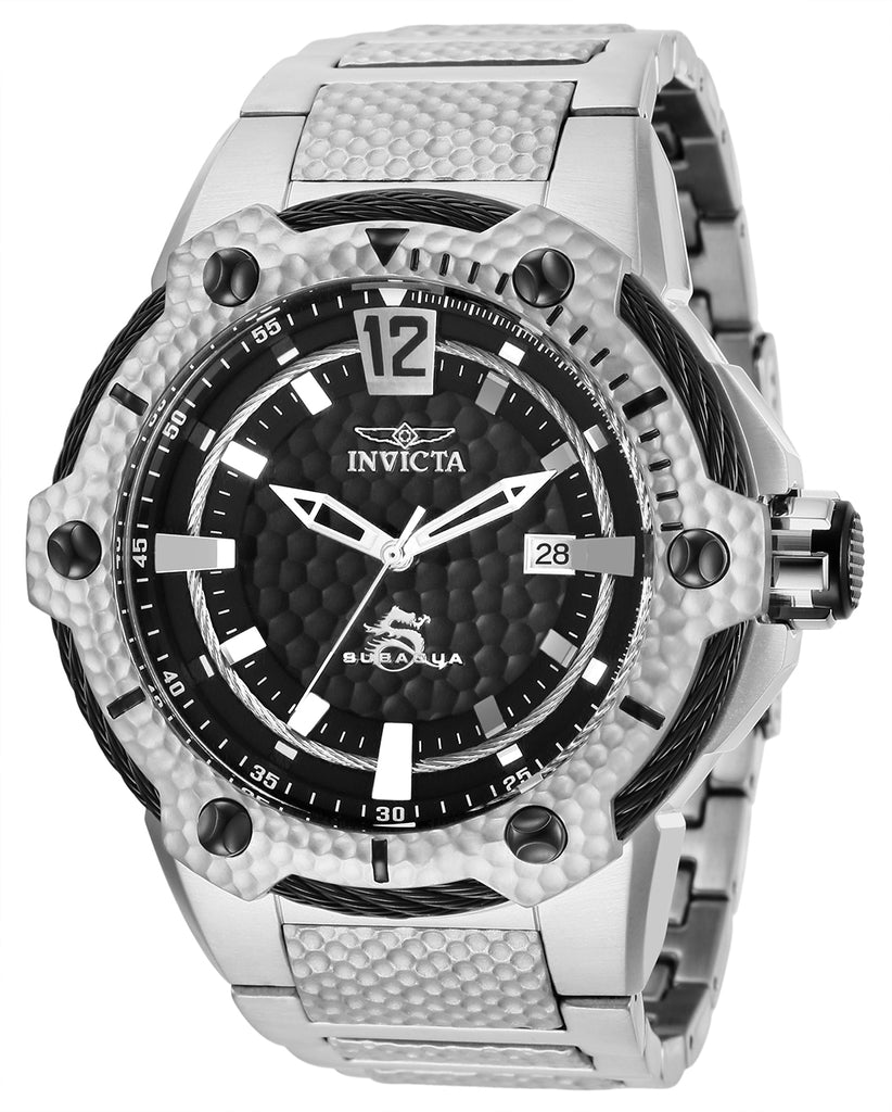 Invicta Men's 28004 Subaqua Automatic Chronograph Black Dial Watch