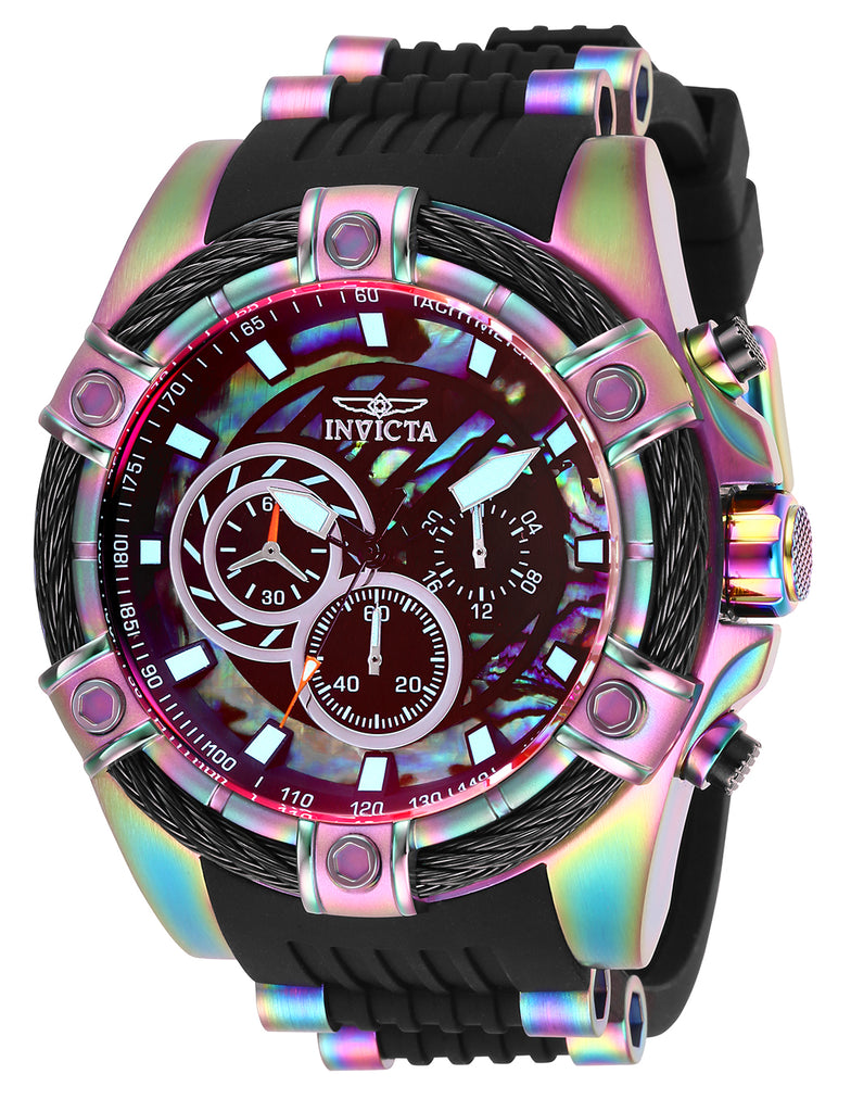 Invicta Men's 28020 Bolt Quartz Chronograph Rainbow Dial Watch