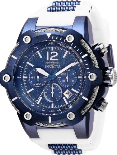 Invicta Men's 28031 Bolt Quartz Chronograph Blue Dial Watch