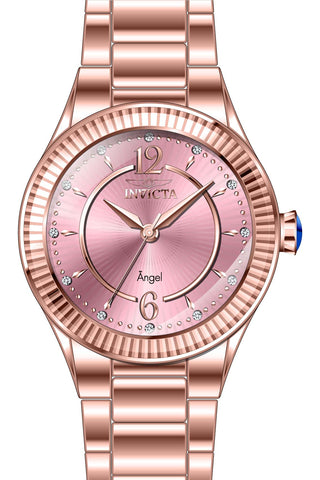 Invicta Women's 28279 Angel Quartz 3 Hand Pink Dial Watch