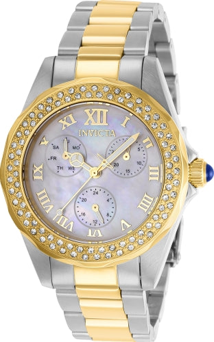 Invicta  Women's 28437 Angel Quartz 3 Hand White Dial Watch