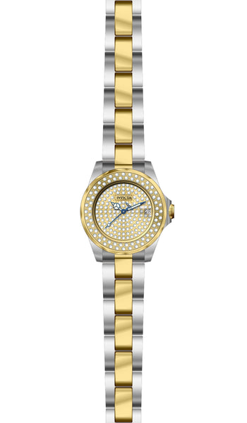 Invicta  Women's 28455 Angel Quartz 3 Hand Pave Dial Watch