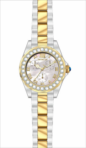 Invicta  Women's 28464 Angel Quartz 3 Hand White Dial Watch