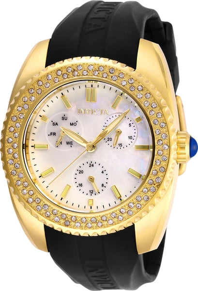 Invicta  Women's 28489 Angel Quartz 3 Hand White Dial Watch