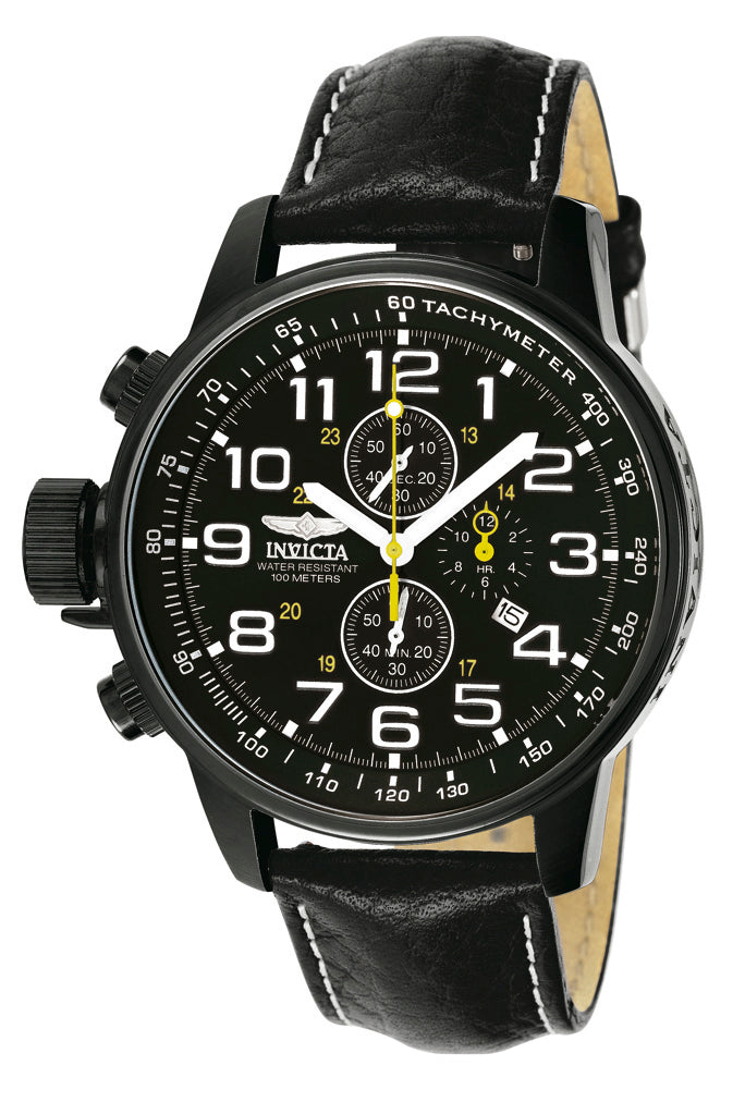 Invicta Men's 3332 I-Force Quartz Chronograph Black Dial Watch