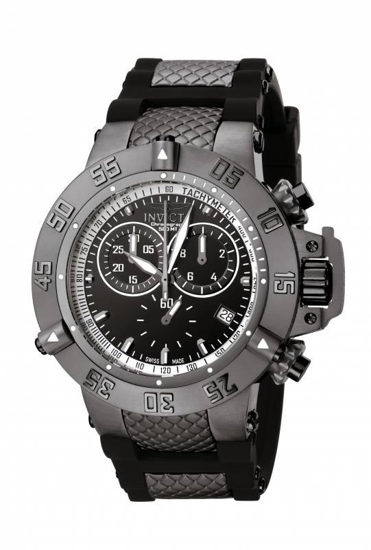 Invicta Men's 5508 Subaqua Quartz Chronograph Black Dial Watch