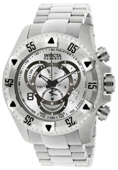 Invicta Men's 5525 Excursion Quartz Chronograph Silver Dial Watch