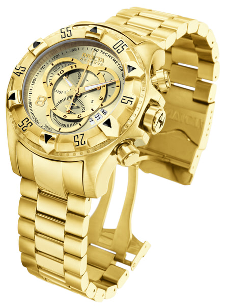Invicta Men's 6471 Excursion Quartz Chronograph Champagne Dial Watch