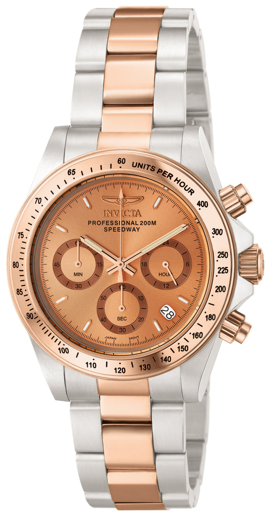 Invicta Men's 6933 Speedway Quartz Chronograph Copper Dial Watch