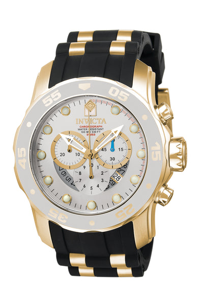 Invicta Men's 6985 Pro Diver Quartz Chronograph Charcoal Dial Watch