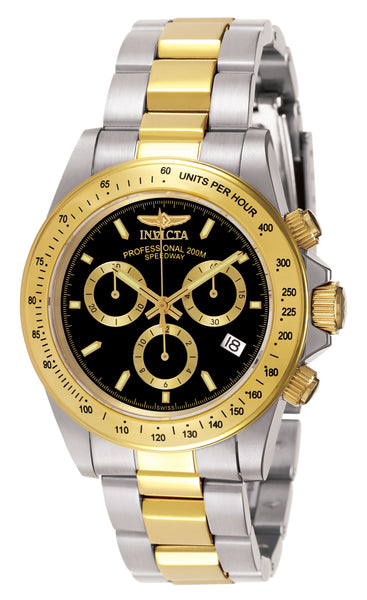 Invicta Men's 7028 Signature Quartz Chronograph Black Dial Watch