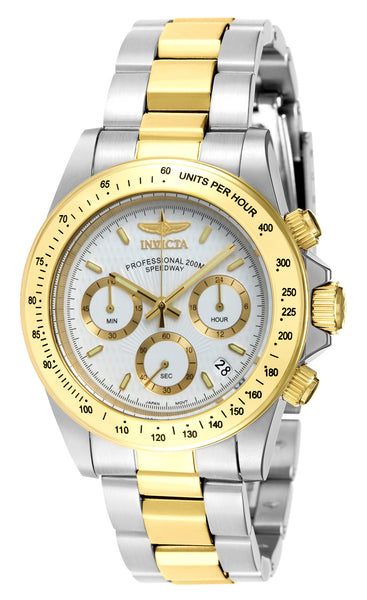 Invicta Men's 7029 Signature Quartz Chronograph White Dial Watch