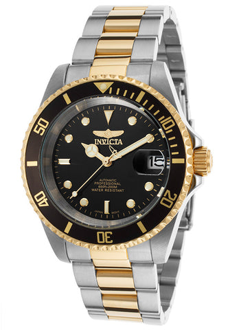 Invicta Men's 8927OB Pro Diver Automatic 3 Hand Black Dial Watch