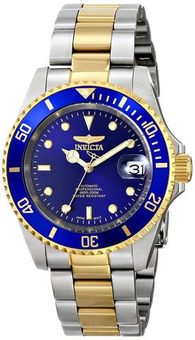 Invicta Men's 8928OB Pro Diver Automatic Blue Dial Watch