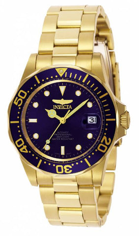 Invicta Men's 8930 Pro Diver Automatic 3 Hand Blue Dial Watch