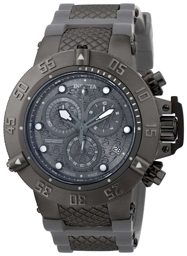 Invicta Men's 90116 Subaqua Quartz Chronograph Grey Dial Watch