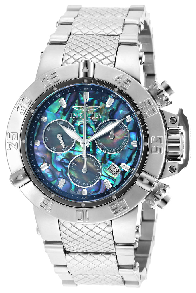 Invicta Men's 90141 Subaqua Quartz Chronograph Blue Dial Watch