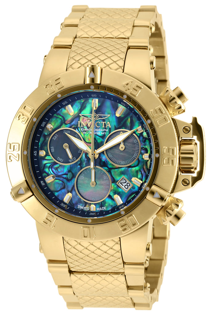 Invicta Men's 90142 Subaqua Quartz Chronograph Blue Dial Watch