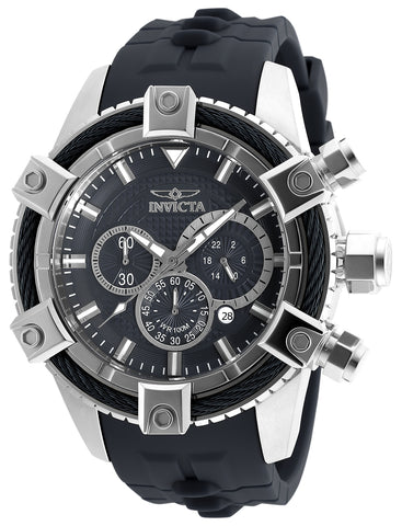 Invicta  Men's 90268 Bolt Quartz Chronograph Black Dial Watch