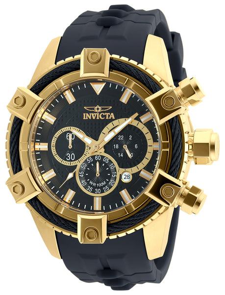 Invicta  Men's 90270 Bolt Quartz Chronograph Black Dial Watch