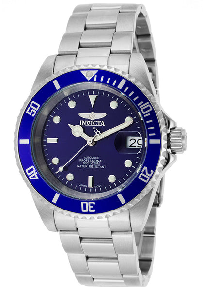 Invicta Men's 9094OB Pro Diver Automatic 3 Hand Blue Dial Watch