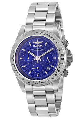 Invicta Men's 9329 Speedway Quartz Chronograph Blue Dial Watch