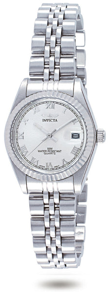 Invicta Women's 9336 Specialty Quartz 3 Hand Silver Dial Watch