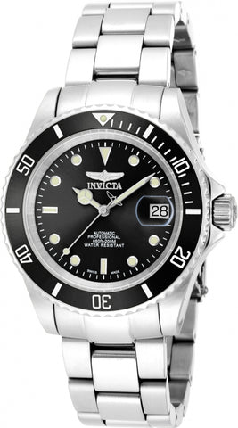 Invicta Men's 9937OB Pro Diver Automatic 3 Hand Black Dial Watch