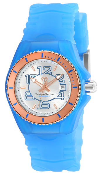 Technomarine Women's TM-115135 Cruise JellyFish Quartz Silver Dial Watch
