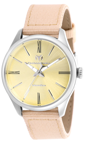 Technomarine Women's TM-117013 MoonSun Quartz Gold Dial Watch