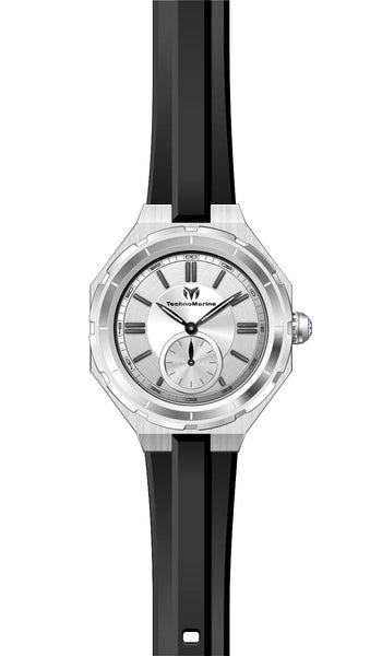 Technomarine Women's TM-118001 Quartz 3 Hand Silver Dial Watch